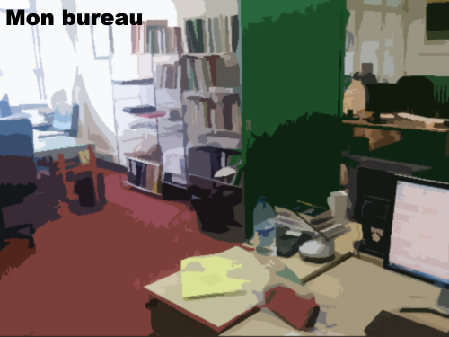 Mon bureau Ilaria Montagni