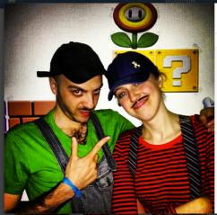 Luigi e il suo Mario